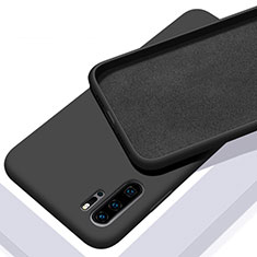 Ultra-thin Silicone Gel Soft Case 360 Degrees Cover C02 for Huawei P30 Pro New Edition Black