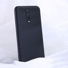 Ultra-thin Silicone Gel Soft Case 360 Degrees Cover C02 for OnePlus 8 Black