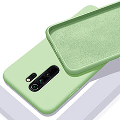 Ultra-thin Silicone Gel Soft Case 360 Degrees Cover C02 for Xiaomi Redmi Note 8 Pro Green