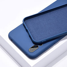 Ultra-thin Silicone Gel Soft Case 360 Degrees Cover C03 for Huawei P20 Pro Blue