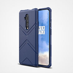 Ultra-thin Silicone Gel Soft Case 360 Degrees Cover C03 for OnePlus 7T Pro Blue