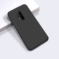 Ultra-thin Silicone Gel Soft Case 360 Degrees Cover C03 for OnePlus 8 Pro Black