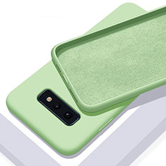 Ultra-thin Silicone Gel Soft Case 360 Degrees Cover C03 for Samsung Galaxy S10e Green