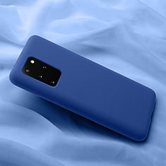Ultra-thin Silicone Gel Soft Case 360 Degrees Cover C03 for Samsung Galaxy S20 Plus 5G Blue