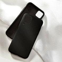 Ultra-thin Silicone Gel Soft Case 360 Degrees Cover C04 for Huawei Nova 7i Black