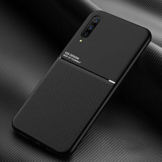 Ultra-thin Silicone Gel Soft Case 360 Degrees Cover C05 for Samsung Galaxy A90 5G Black