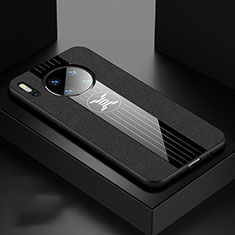 Ultra-thin Silicone Gel Soft Case 360 Degrees Cover C06 for Huawei Mate 30 Pro 5G Black