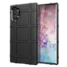Ultra-thin Silicone Gel Soft Case 360 Degrees Cover C06 for Samsung Galaxy Note 10 Plus 5G Black