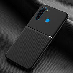Ultra-thin Silicone Gel Soft Case 360 Degrees Cover C06 for Xiaomi Redmi Note 8 Black