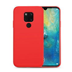 Ultra-thin Silicone Gel Soft Case 360 Degrees Cover C07 for Huawei Mate 20 Red