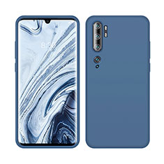 Ultra-thin Silicone Gel Soft Case 360 Degrees Cover C08 for Xiaomi Mi Note 10 Blue