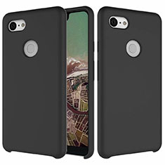 Ultra-thin Silicone Gel Soft Case 360 Degrees Cover for Google Pixel 3 XL Black