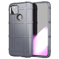 Ultra-thin Silicone Gel Soft Case 360 Degrees Cover for Google Pixel 4a 5G Gray