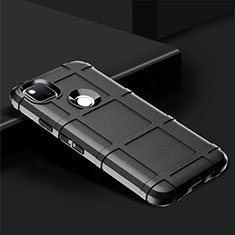 Ultra-thin Silicone Gel Soft Case 360 Degrees Cover for Google Pixel 4a Black