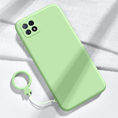 Ultra-thin Silicone Gel Soft Case 360 Degrees Cover for Huawei Enjoy 20 5G Green