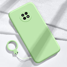 Ultra-thin Silicone Gel Soft Case 360 Degrees Cover for Huawei Enjoy 20 Plus 5G Green