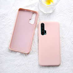 Ultra-thin Silicone Gel Soft Case 360 Degrees Cover for Huawei Honor 20 Pro Rose Gold