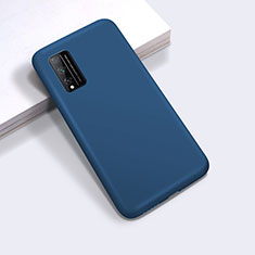 Ultra-thin Silicone Gel Soft Case 360 Degrees Cover for Huawei Honor Play4T Pro Blue