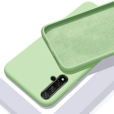 Ultra-thin Silicone Gel Soft Case 360 Degrees Cover for Huawei Nova 5T Green