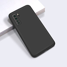 Ultra-thin Silicone Gel Soft Case 360 Degrees Cover for Huawei P40 Lite 5G Black