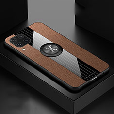 Ultra-thin Silicone Gel Soft Case 360 Degrees Cover for Huawei P40 Lite Brown