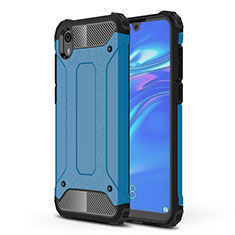 Ultra-thin Silicone Gel Soft Case 360 Degrees Cover for Huawei Y5 (2019) Blue