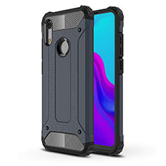 Ultra-thin Silicone Gel Soft Case 360 Degrees Cover for Huawei Y6 (2019) Blue