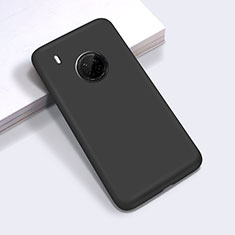 Ultra-thin Silicone Gel Soft Case 360 Degrees Cover for Huawei Y9a Black