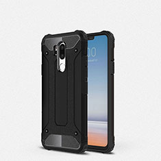 Ultra-thin Silicone Gel Soft Case 360 Degrees Cover for LG G7 Black