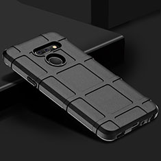 Ultra-thin Silicone Gel Soft Case 360 Degrees Cover for LG G8 ThinQ Black
