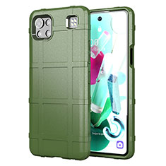 Ultra-thin Silicone Gel Soft Case 360 Degrees Cover for LG K92 5G Green