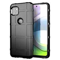Ultra-thin Silicone Gel Soft Case 360 Degrees Cover for Motorola Moto G 5G Black