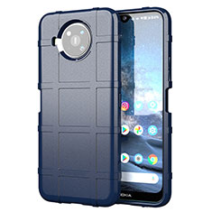 Ultra-thin Silicone Gel Soft Case 360 Degrees Cover for Nokia 8.3 5G Blue