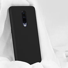 Ultra-thin Silicone Gel Soft Case 360 Degrees Cover for OnePlus 7 Pro Black