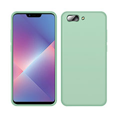 Ultra-thin Silicone Gel Soft Case 360 Degrees Cover for Oppo A12e Green