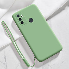 Ultra-thin Silicone Gel Soft Case 360 Degrees Cover for Oppo A53s Green
