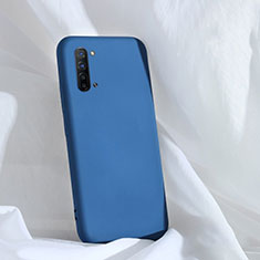 Ultra-thin Silicone Gel Soft Case 360 Degrees Cover for Oppo Find X2 Lite Blue