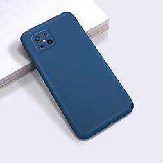 Ultra-thin Silicone Gel Soft Case 360 Degrees Cover for Oppo Reno4 Z 5G Blue