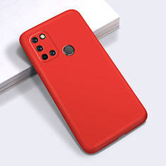 Ultra-thin Silicone Gel Soft Case 360 Degrees Cover for Realme C17 Red