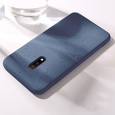 Ultra-thin Silicone Gel Soft Case 360 Degrees Cover for Realme X Blue