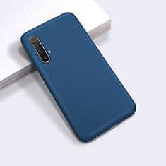 Ultra-thin Silicone Gel Soft Case 360 Degrees Cover for Realme X50 5G Blue