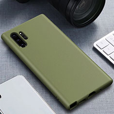 Ultra-thin Silicone Gel Soft Case 360 Degrees Cover for Samsung Galaxy Note 10 Plus 5G Green