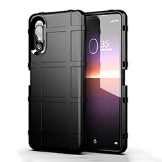 Ultra-thin Silicone Gel Soft Case 360 Degrees Cover for Sony Xperia 10 II Black
