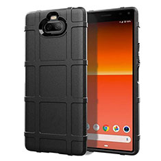 Ultra-thin Silicone Gel Soft Case 360 Degrees Cover for Sony Xperia 8 Lite Black