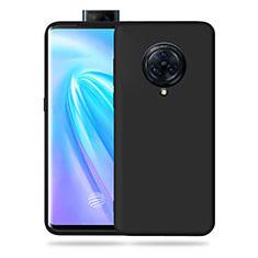 Ultra-thin Silicone Gel Soft Case 360 Degrees Cover for Vivo Nex 3 5G Black