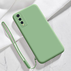 Ultra-thin Silicone Gel Soft Case 360 Degrees Cover for Vivo Y20s Green