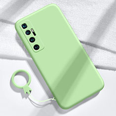 Ultra-thin Silicone Gel Soft Case 360 Degrees Cover for Xiaomi Mi 10 Ultra Matcha Green