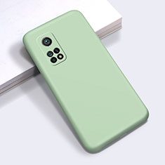 Ultra-thin Silicone Gel Soft Case 360 Degrees Cover for Xiaomi Mi 10T 5G Matcha Green