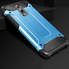 Ultra-thin Silicone Gel Soft Case 360 Degrees Cover for Xiaomi Mi 9T Blue