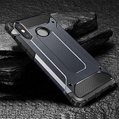 Ultra-thin Silicone Gel Soft Case 360 Degrees Cover for Xiaomi Mi Max 3 Blue